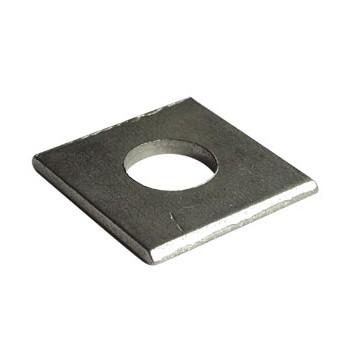 窗固 碳钢镀锌方垫片30*30*3-孔13